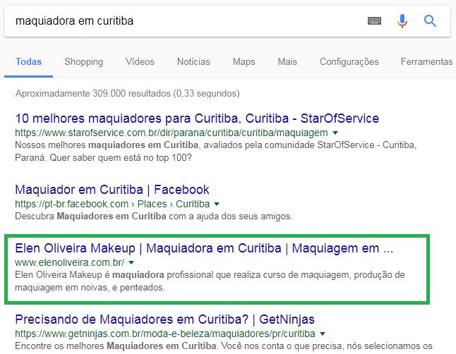 Site Maquiadora Elen Oliveira