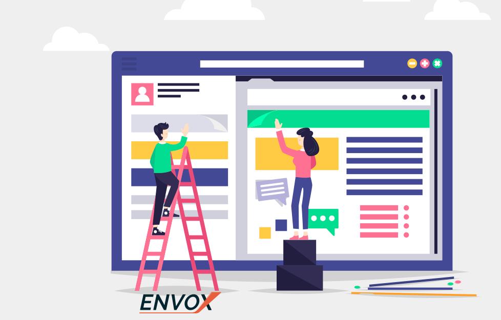 Mídias Sociais ENVOX Marketing Digital