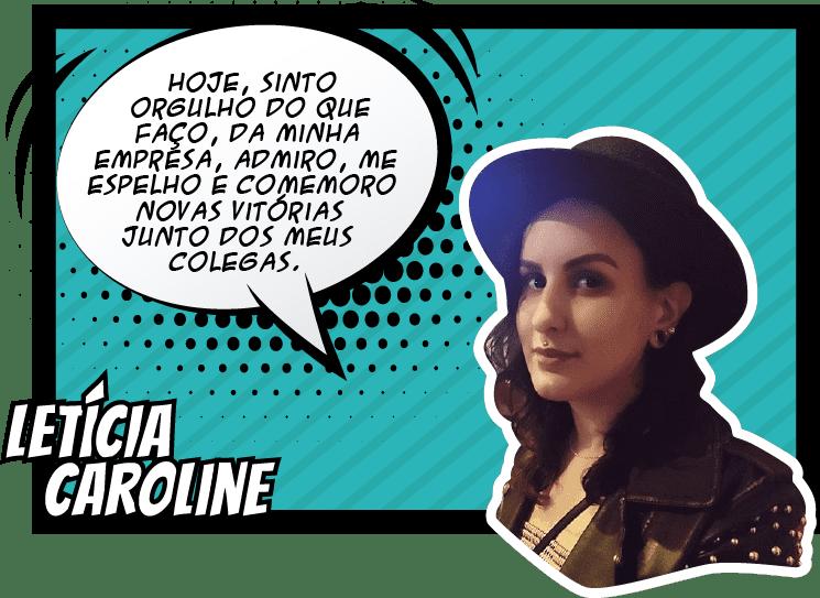 Letícia Caroline envox