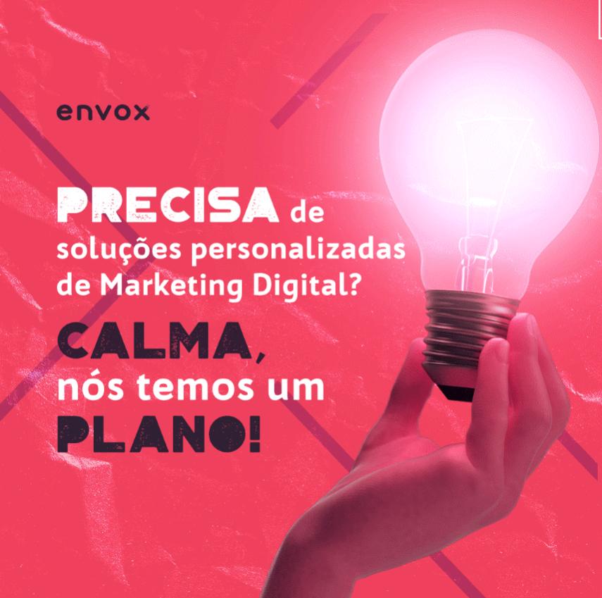 Tenha soluções personalizadas de marketing digital